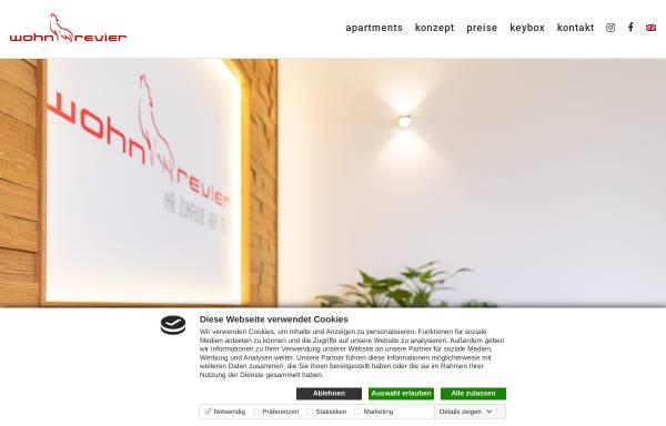 Vorschau von www.wohnrevier.de, wohnrevier - Högner GmbH & Co. KG