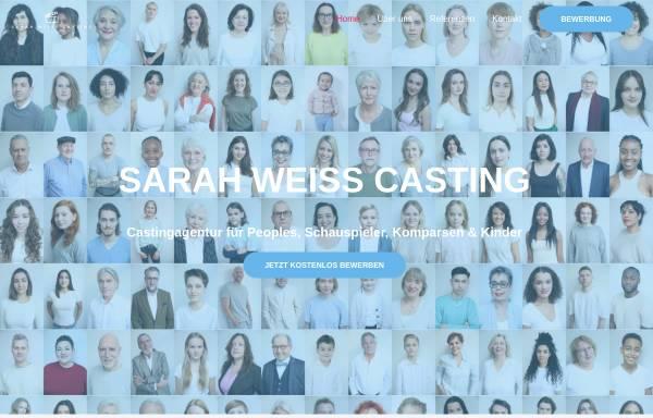 Vorschau von castingagentur-weiss.de, Sarah Weiss Casting