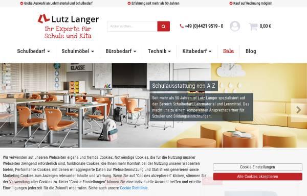 Vorschau von www.lutzlanger.de, Lutz Langer GmbH