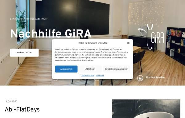 Vorschau von nachhilfe-gira.de, Nachhilfeinstitut GiRA