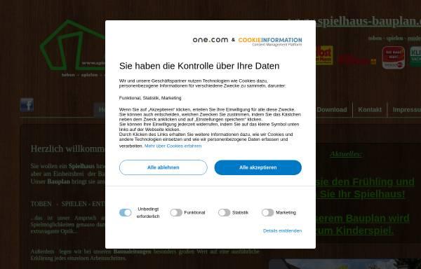 Vorschau von www.spielhaus-bauplan.de, TF-Solutions - Thomas Frölich