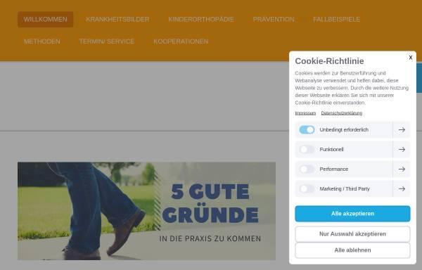 Vorschau von www.ortho-mattauch.de, Praxis Ortho - Mattauch