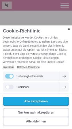 Vorschau der mobilen Webseite www.mamamiatraeumereien.de, MamaMia - Träumereien