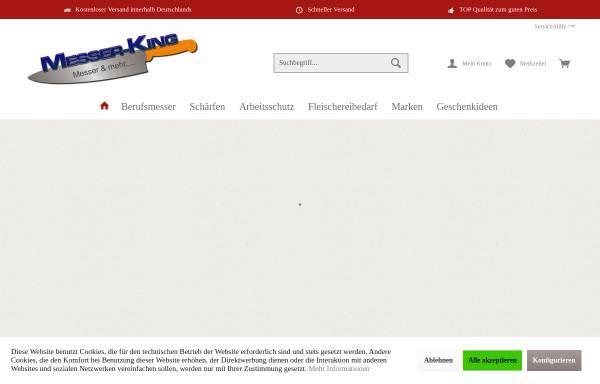 Vorschau von www.messer-king.de, MESSER-KING