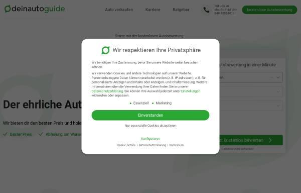 Vorschau von deinautoguide.de, DeinAutoGuide - DAG GmbH