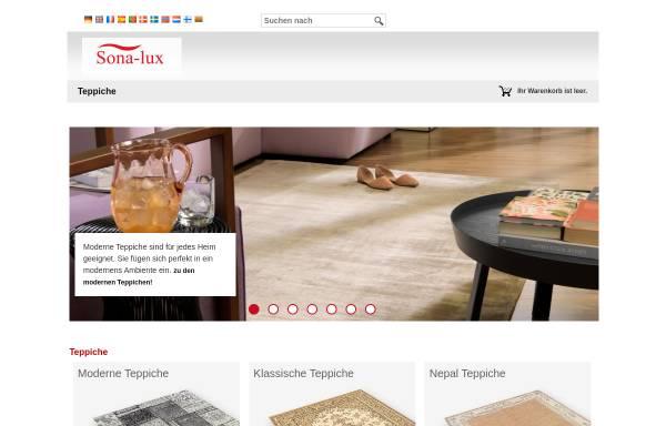 Vorschau von www.sona-lux.com, Sona-Lux OHG