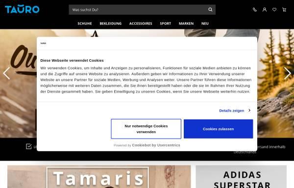 Vorschau von www.tauro.de, Tauro - X-Trade GmbH