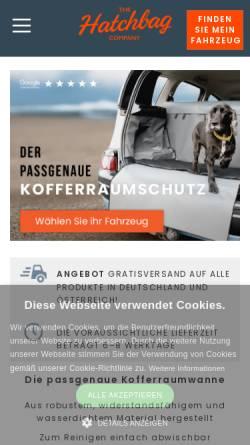 Vorschau der mobilen Webseite www.hatchbag.de, The Hatchbag Company