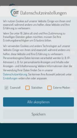 Vorschau der mobilen Webseite www.olbricht.it, Olbricht IT