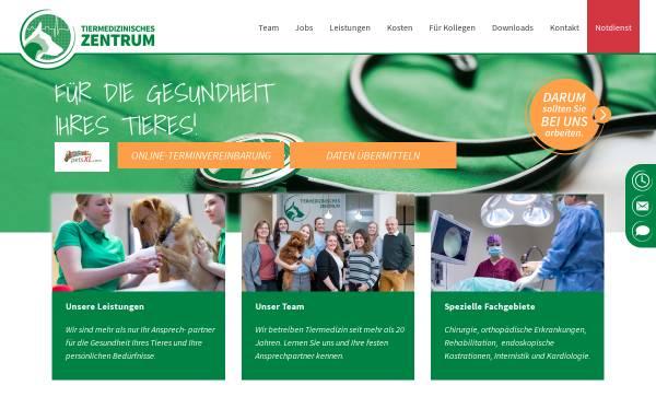 Vorschau von www.tiermed-zentrum.de, Tiermedizinisches Zentrum