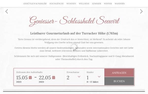 Vorschau von www.schlosshotel-seewirt.com, Geniesser Schlosshotel Seewirt