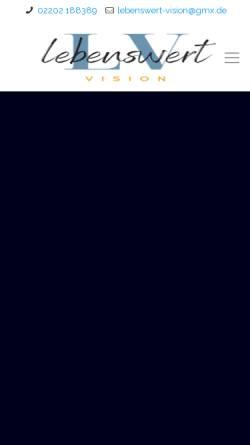 Vorschau der mobilen Webseite psychotherapie-coaching-bergisch-gladbach.com, Privatpraxis für Psychotherapie und Coaching - Stefan Röhrig