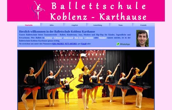 Vorschau von ballettschule-karthause.de, Ballettschule Karthause