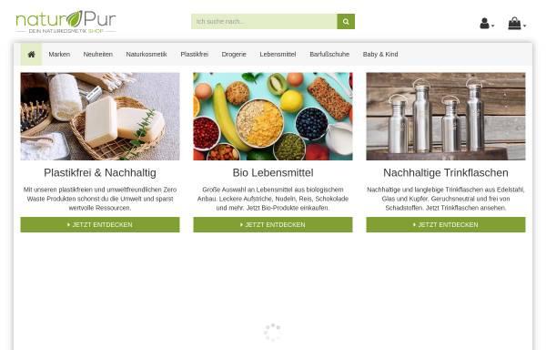 Vorschau von www.shop-naturpur.de, naturPur Shop