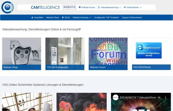Vorschau von www.camtelligence.de, CamTelligence - Annett Vanselow