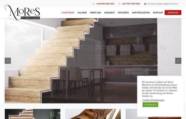 Vorschau von www.mores-treppen.de, MORES - Monika Szumska