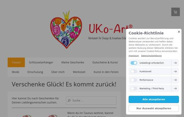 Vorschau von www.uko-art.de, UKo-Art®