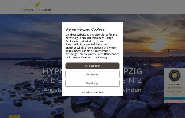 Vorschau von hypnosepraxis-leipzig.de, Hypnosepraxis Leipzig - Alexander Fenz