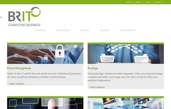 Vorschau von www.br-it.de, BRIT GmbH