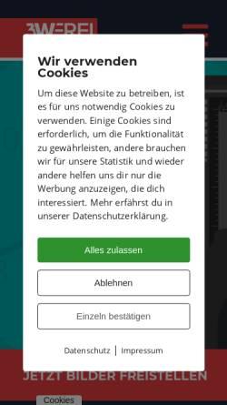 Vorschau der mobilen Webseite www.freistellen.de, Freistellen - 3W IMAGE GmbH