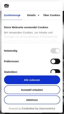 Vorschau der mobilen Webseite www.3wfuture.de, 3W FUTURE GmbH & Co. KG
