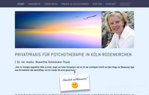 Vorschau von psychotherapierodenkirchen.de, Dr. rer. medic. Roswitha Schmücker-Thust