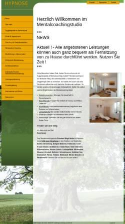 Vorschau der mobilen Webseite hypnosestudio-potsdam.de, Hypnosestudio Potsdam - Birgit Nickel