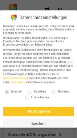 Vorschau der mobilen Webseite www.casa-dentalis.de, CASA DENTALIS