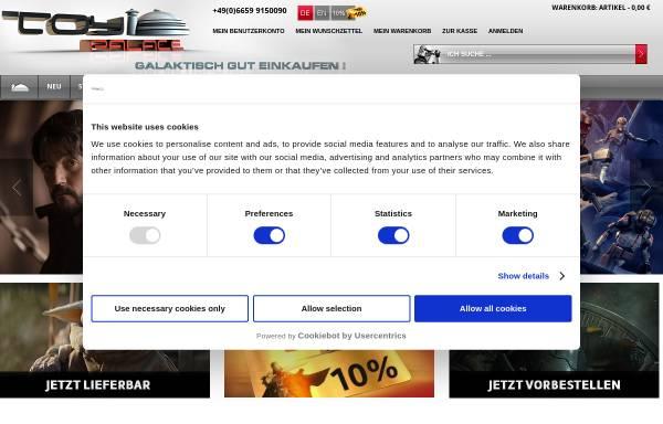 Vorschau von www.toy-palace.com, Toy Palace GmbH