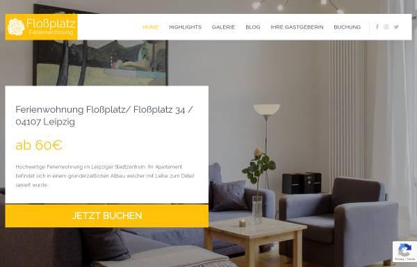 Vorschau von www.ferienwohnungleipzig.org, Ferienwohnung Floßplatz