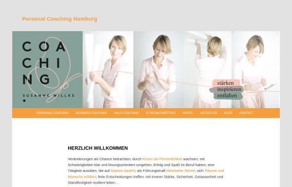 Vorschau: Personal Coaching Hamburg - Susanne Willke