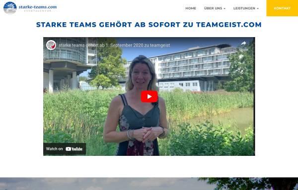Vorschau von www.starke-teams.com, starke-teams Eventagentur