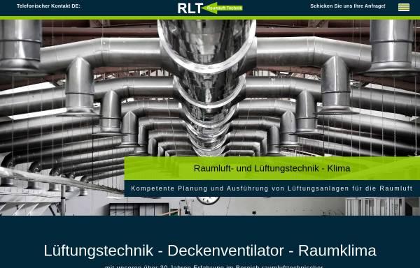Vorschau von www.lueftungstechnik-klima.de, Raumluft Technik - Michael Granzow