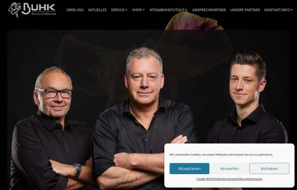 Vorschau von www.buhk-blumen.de, Stefan Buhk Blumengroßhandel e.K.