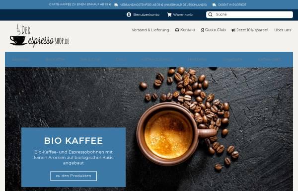 Vorschau von der-espressoshop.de, Der EspressoShop - Daniel Di Fiore