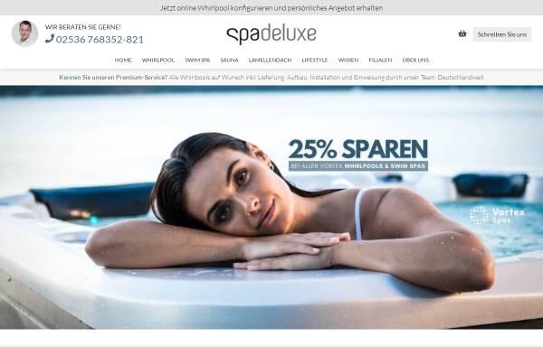 Vorschau von www.spadeluxe.de, SPA Deluxe GmbH