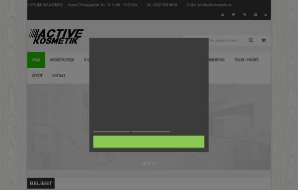Vorschau von active-kosmetik.de, Active Kosmetik