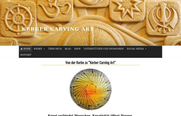 Vorschau von kerber-carving-art.com, Kerber Carving Art