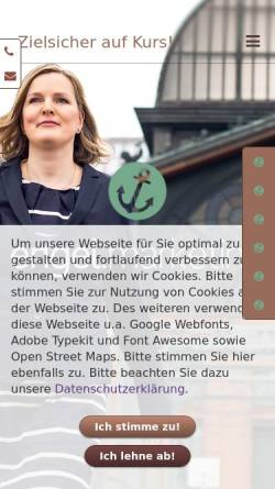 Vorschau der mobilen Webseite www.engel.marketing, engel.marketing - Marketingberatung