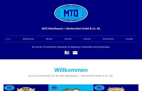 Vorschau: MTO Metallwaren + Werbemittel GmbH & Co. KG
