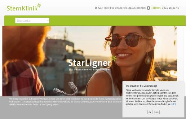 Vorschau von www.sternklinik.net, SternKlinik - medi-z GmbH & Co. KG