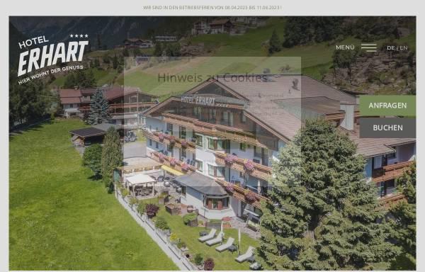 Vorschau von www.hotel-erhart.at, Hotel Erhart