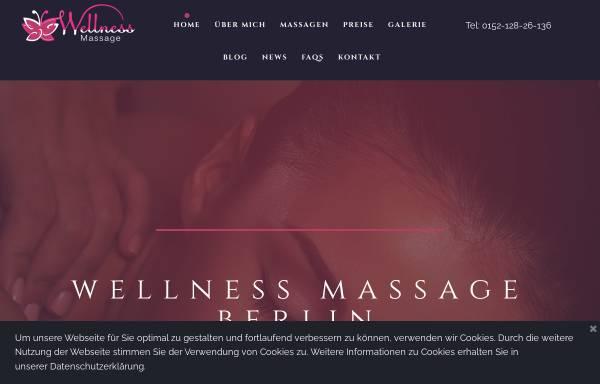 Vorschau von www.blissmassage.de, Wellness Massage, Berlin Tiergarten