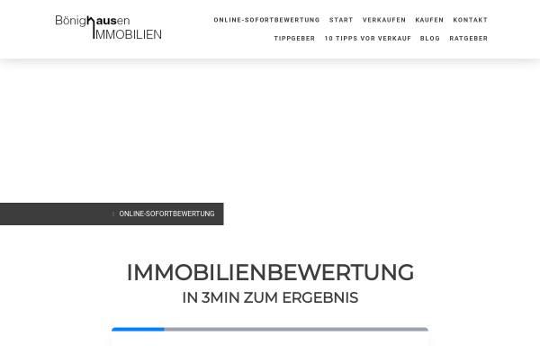 Vorschau von www.boenighausen-immobilien.de, Bönighausen Immobilien