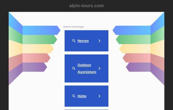 Vorschau von www.alpin-tours.com, Alpin Tours Burkart/Portenkirchner GbR