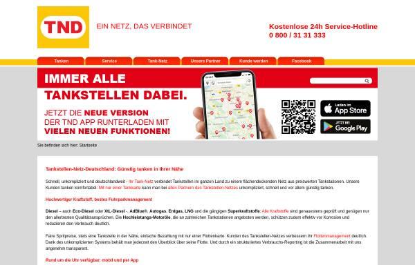 Vorschau von www.tank-netz.de, Tankstellen-Netz-Deutschland GmbH