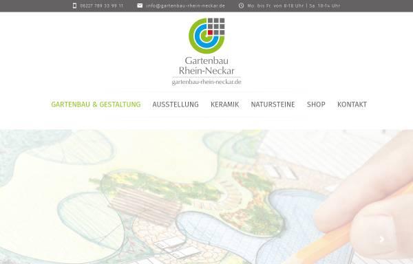 Vorschau von www.gartenbau-mannheim.de, Home & Garden Solutions
