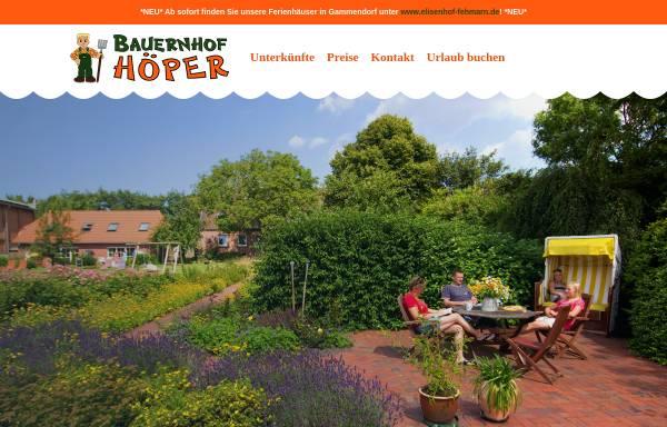 Vorschau von www.bauer-hoeper.de, Bauer Höper