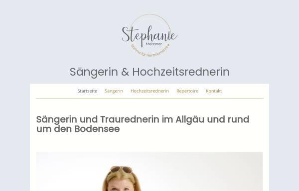 Vorschau von www.stephanie-meissner.de, Stephanie Meissner