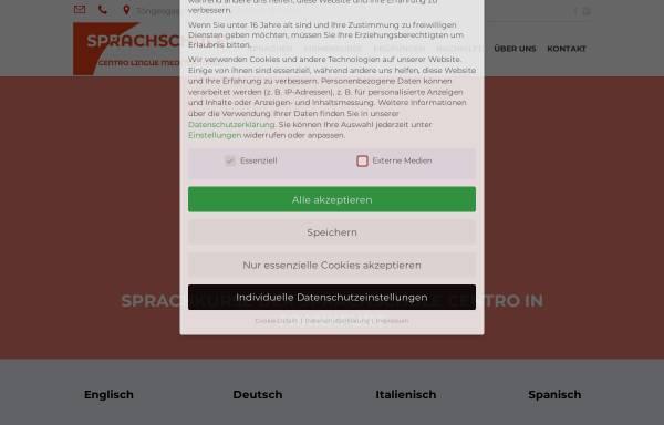 Vorschau von www.sprachschule-centro-ffm.de, Sprachinstitut Centro Lingue Mediterranee